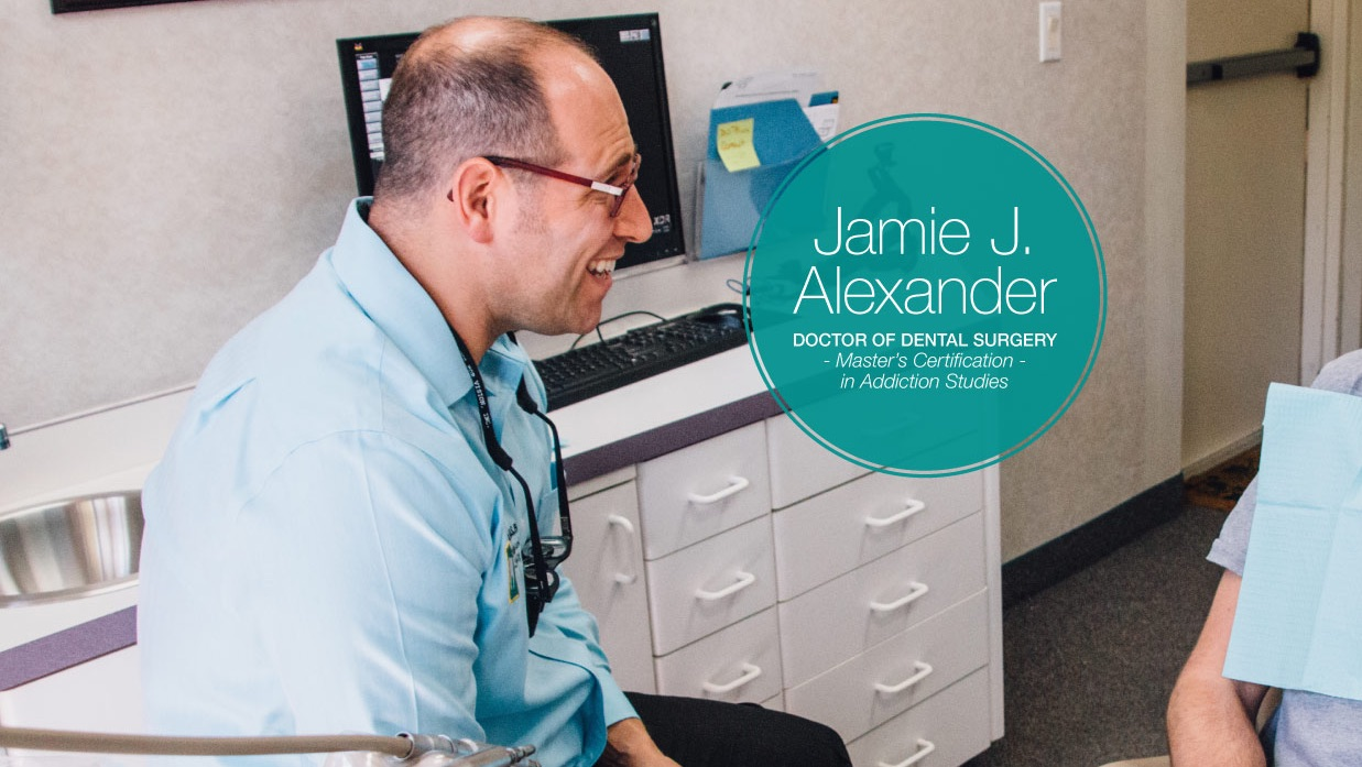 Dr. Alexander talking recovery dentistry on My Recovery Radio